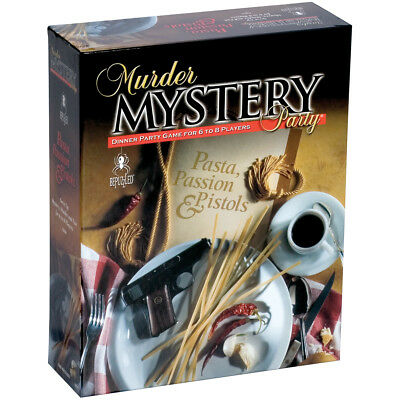 Murder Mystery Party Game Pasta, Passion & Pistols 33201