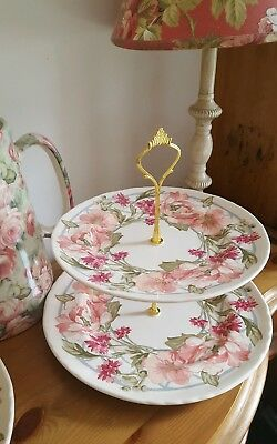 cake stand Liberty of london plates