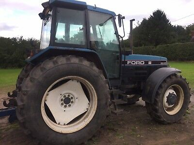 Ford Newholland 8240 4wd tractor digger Jcb john Deere case
