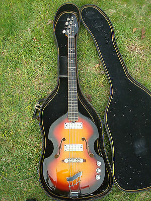 Vox V 250 bass guitar 1960's Made in Italy project