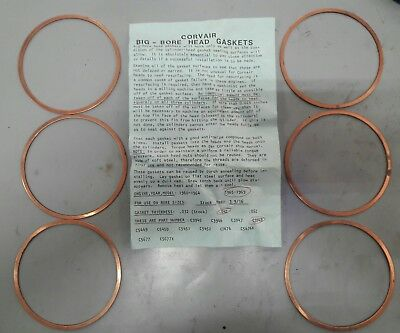 Chevy Corvair Head Gaskets