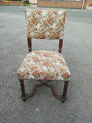 antique William and Mary chair