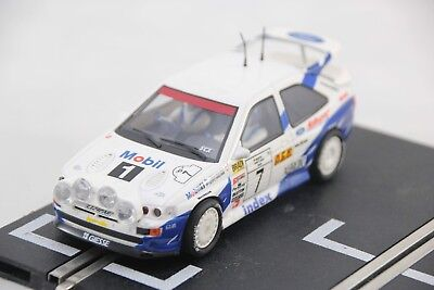 Scx Analogue  Car - 62580 - Ford Escort Cosworth Rally Car - #7 - White