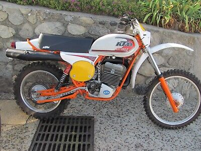 Moto Ktm 250 Gs6 Enduro Collection Tbe ;carte Grise  Annee 1978