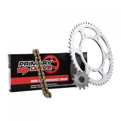 Primary Drive Steel Kit & Gold X-Ring Chain HONDA CR125R 1997;