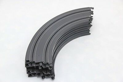 Micro Scalextric Track - G105 - Curves - 90 Degree - X8