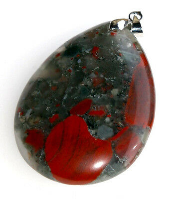 Afrika-Blood Stone, 84,7ct.,Natural,Anhänger