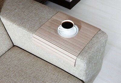 Handmade, Wood, Sofa Tray Table, Armrest Tray, Coffee Table, Sofa Table, BMES40