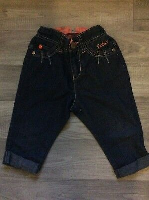 ted Baker Baby girls light jeans 12-18 months adjustable waistband