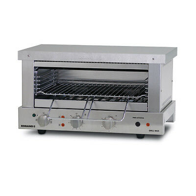 Salamander Grill Toaster Wide Entry 625x390x350mm 15amp Roband GMW815E NEW