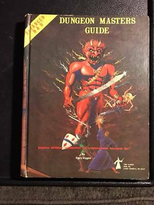 Advanced Dungeons & Dragons Dungeon Masters Guide- December 1979 - AD&D