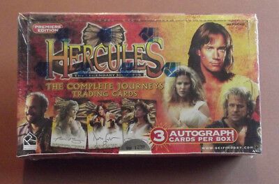 Hercules The Legendary Jounreys Trading Cards Factory Sealed Box Limited to 6000