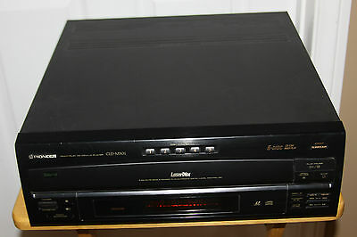 Pioneer-Cld-M301-Laserdisc-Player-With-5-Cd-Changer-Ld Parts Or Labor