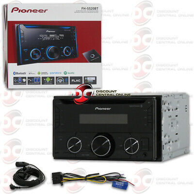 Pioneer Double Din 2Din Car Mp3 Cd Bluetooth Stereo Works With Pandora & Spotify