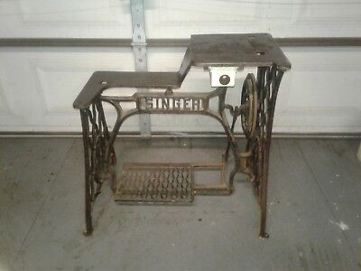 Antique Singer Sewing Base Cast Iron Industrial 29-4 Industrial and other models