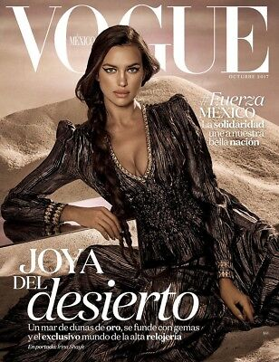 Mexican Magazine Vogue Lineisy Montero September 2017 Mexico Spanish New