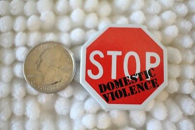 Stop Domestic Violence Woman's Rights Pin Pinback Button #26497