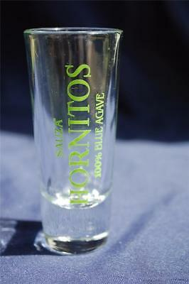 Sauza Hornitos Tequila Shot GLASS 100% Blue Agave