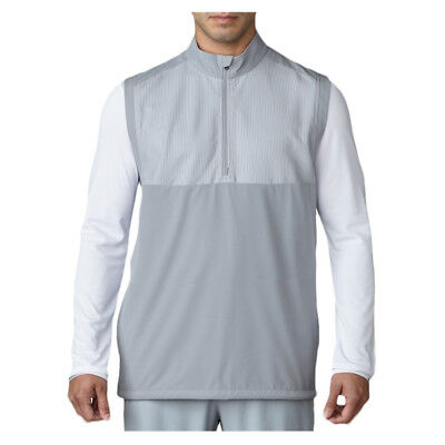Adidas Competition Stretch Wind Golf Vest Mid Grey X-Large