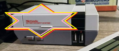 Nintendo Entertainment System Logo Decal Sticker NESPI NES Waterslide Retroflag