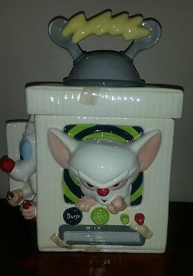Animaniacs 1996 Pinky and The Brain cookie jar