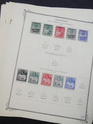 EDW1949SELL : ASCENSION Choice quality all VF MOG collection on pages. Cat $581.