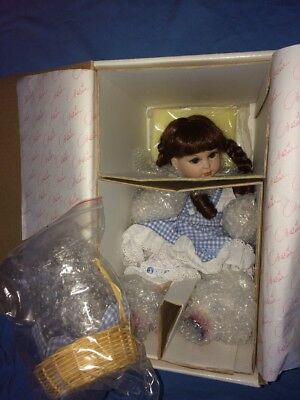"""Marie Osmond Porcelain Toddler Doll---Wizard of Oz """"Baby Dorothy""""---*NEW IN BOX*"""