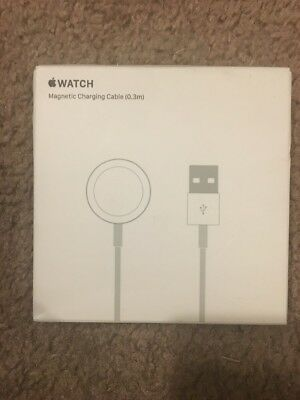 Original  Apple Watch™ Magnetic Charging Cable 0.3 m White MLLA2AM/A A1570