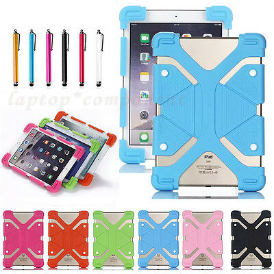 """For Amazon Kindle Fire HD 10 Tablet 10.1"""" 2017 Release Shockproof Silicone Case"""
