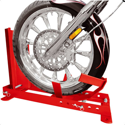 Motorcycle Wheel Chock Stand Multi-Fit