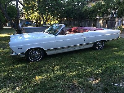 1967 Ford Fairlane 500 1967 ford fairlane 500 convertible 289 auto air conditioning no rust project