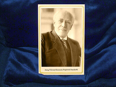KONSTANTIN STANISLAVSKI Acting Visionary Cabinet Card Drama Photo Theater RP