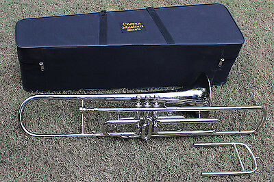 Trombone Band Marching Bb PRO Nickel Hard Case M/P Fast Shippiing