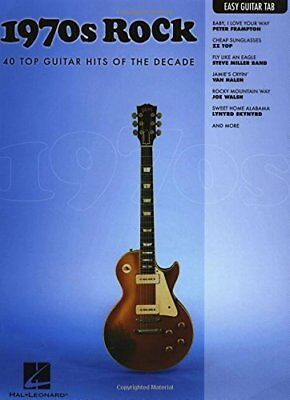 1970s Rock: 40 Top Guitar Hits of the Decade (Easy Guitar Tab Editions)