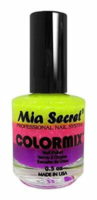 Mia Secret Colourmix de uñas, amarillo/rosa/morado 15 ml