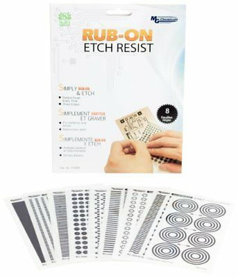 MG Chemicals 8 piezas Rub-On Etch resistir Kit