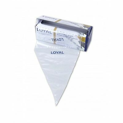 Loyal Clear Disposable Piping Bags 30cm / 12 inch - 100 pack