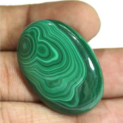 Natural Malachite Nice Loose Cabochon Gemstone .