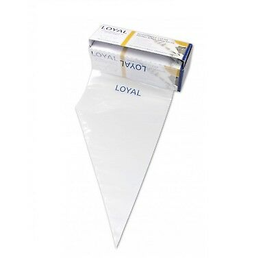 Loyal Clear Disposable Piping Bags 46cm / 18 inch - 100 pack