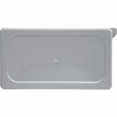 Rubbermaid Commercial Products Cold Food Pan, Soft Sealing Lid, 1/3 Size, Gray )
