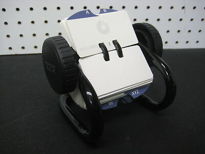 """Rolodex Card File 1 3/4"""" x 3 1/4"""" Classic Mini Open Rotary File fits around 250"""