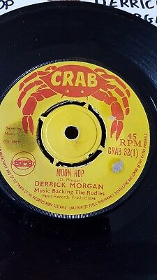 derrick morgan moon hop crab vg+
