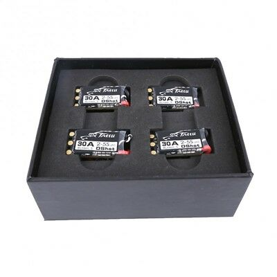 4X Tattu BLHeli_S 30A Esc 2-5S Speed Controller With Dshot For FPV Racing Drone