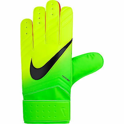 Goalkeepers Gloves Nike Gk Match New Design Size 7, 8 (Youth-Adult) Volt/green