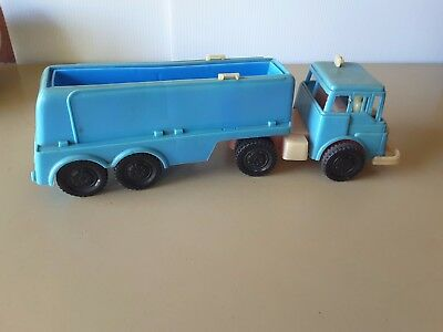 1950 PLASTIC TOY plastic TANKER  MADE IN AUSTRALIA AS FOUND