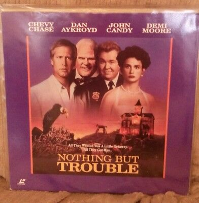 Nothing But Trouble Laserdisc Ntsc