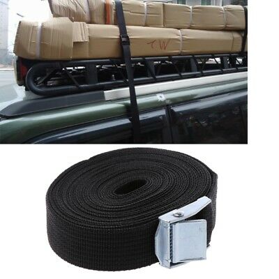 25mm*5M Tie Down Strong Ratchet Belt Luggage Cargo Lashing With Metal Buckle