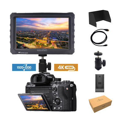 Lilliput A7s 7-inch 1920x1200 DSLR Mirrorless Camera Field Monitor 4K HDMI SONY