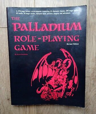 The Palladium Role-Playing Game (1988)