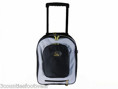 Prohawk Bowls Trolley Bag - Pull Along - Strong Durable Free P&p Grey Prohawk